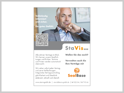 StaVis Sales Contract Management Solution SealBase